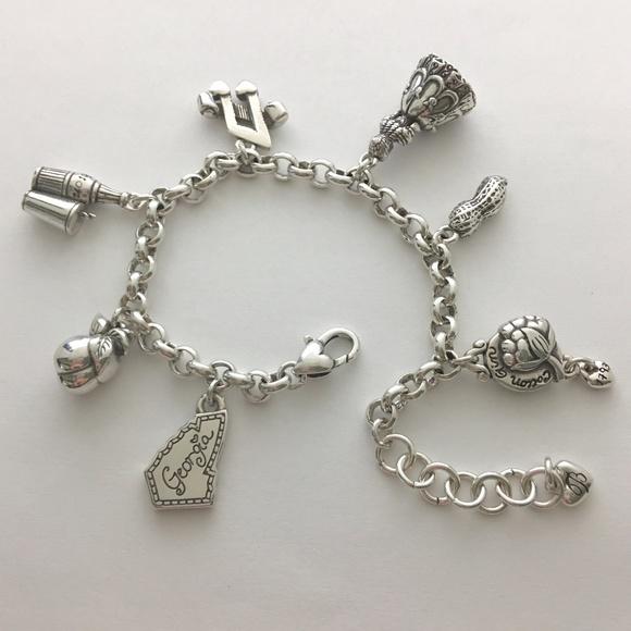 Brighton ' Georgia ' charm bracelet